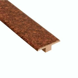 Home Legend Lisbon Mocha 7/16 in. Thick x 1-3/4 in. Wide x 78 in. Length Cork T-Molding