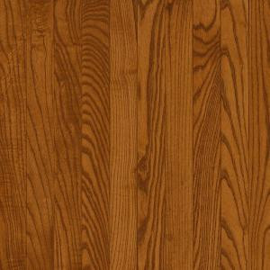 Bruce Natural Reflections Gunstock Oak 5/16 in. Thick x 2-1/4 in. Wide x Random Length Solid Hardwood Flooring 40 sq. ft./case