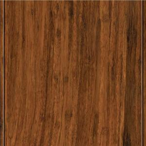 Home Legend Strand Woven Toast Solid Bamboo Flooring - 5 in. x 7 in. Take Home Sample