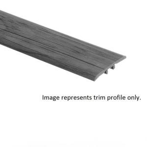 Barista Brown Oak 3/8 in. Thick x 1-3/4 in. Wide x 94 in. Length Hardwood T-Molding