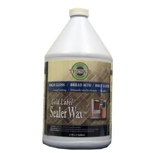 Trewax 1 gal. Gold Label Sealer Wax Gloss Finish