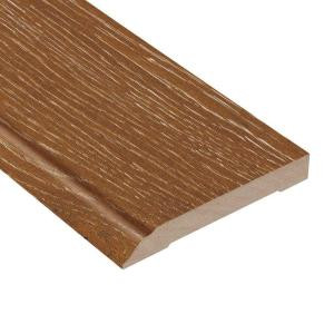 Home Legend Wire Brushed Heritage Oak 1/2 in. Thick x 3-1/2 in. Wide x 94 in. Length Hardwood Wall Base Molding