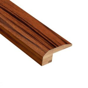 Home Legend Exotic Tigerwood 5/8 in. Thick x 2-1/8 in. Wide x 78 in. Length Bamboo Carpet Reducer Molding