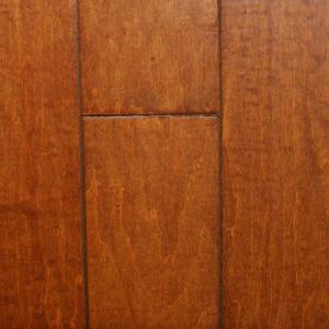 Millstead Handscraped Maple Spice 1/2 in. Thick x 3 in. Wide x Random Length Engineered Hardwood Flooring (24 sq. ft. / case)