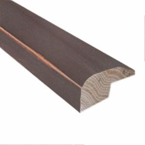 Millstead Smoky Mineral/Moonstone/Natural Fossil 0.88 in. x 2 in. x 78 in. Length Hardwood Carpet Reducer/Baby Threshold Molding