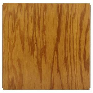 Ludaire Speciality Tile Red Oak Butterscotch Engineered Hardwood Tile Flooring -12 in. x 12 in. Take Home Sample