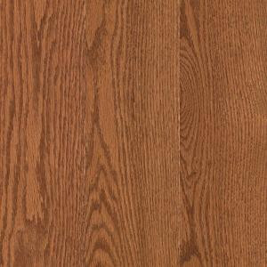 Mohawk Raymore Oak Gunstock 3/4 in. Thick x 5 in. Wide x Random Length Solid Hardwood Flooring (19 sq. ft./case)
