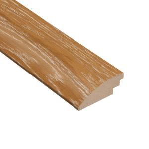 Home Legend Wire Brushed Wilderness Oak 3/8 in. Thick x 2 in. Wide x 78 in. Length Hardwood Hard Surface Reducer Molding