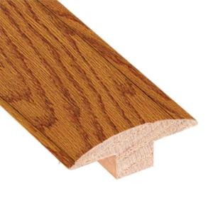Millstead Oak Butterscotch 3/4 in. Thick x 2 in. Wide x 78 in. Length Hardwood T-Molding