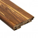 Home Legend Strand Woven Tiger Stripe 3/8 in. Thick x 3-3/8 in. Wide x 78 in. Length Bamboo Stair Nose Molding