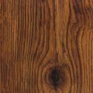 Hampton Bay Hand Scraped Oak Burnt Caramel Laminate Flooring- 5 in. x 7 in. Take Home Sample