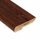 Home Legend Brushed Horizontal Rainforest 3/8 in. Thick x 3-3/8 in. Wide x 78 in. Length Bamboo Stair Nose Molding