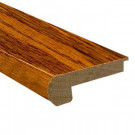 Heritage Mill Oak Old World 0.81 in. Thick x 3-1/2 in. Wide x 78 in. Length Hardwood Flush-Mount Stair Nose Molding