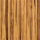 Home Legend Strand Woven Tiger Stripe Solid Bamboo Flooring - 5 in. x 7 in. Take Home Sample